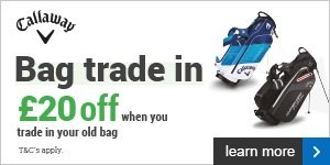 Callaway Bag Trade In - get £20 for your old bag