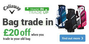 Get £20 off a new Callaway bag